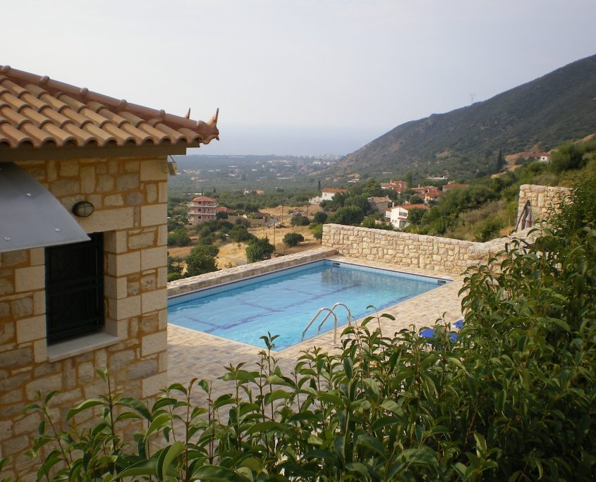 Immobilie Kyparissia Pool