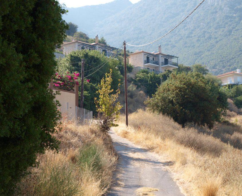 Immobilie Kyparissia Weg zum Haus