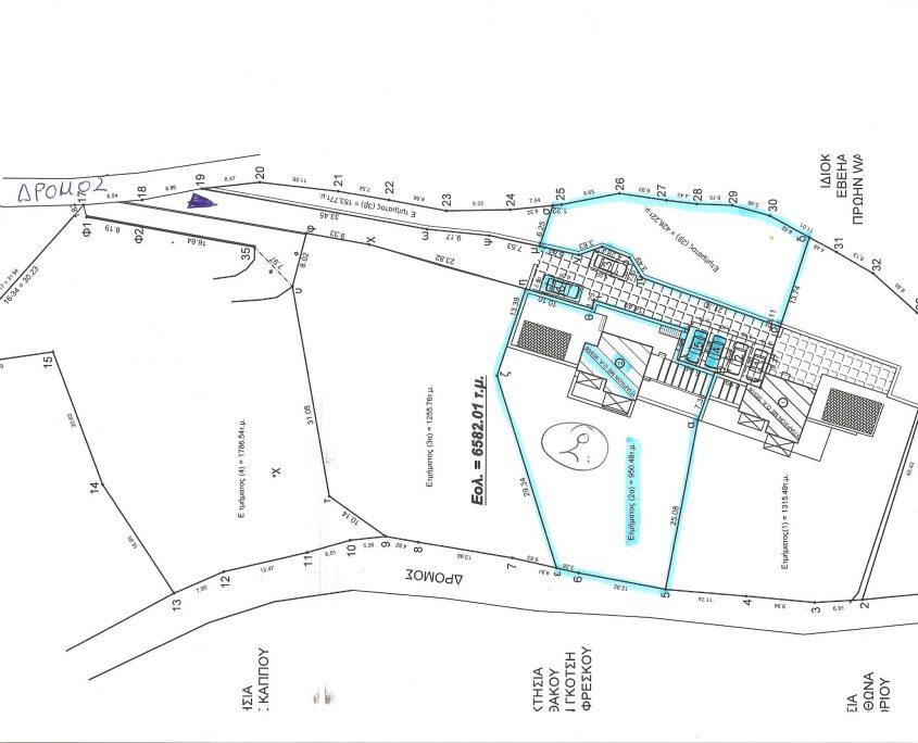 Immobilie-Kyparissia-Plan-Grundstueck